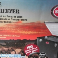 Snomaster Camping fridge freezer 12/220v