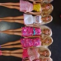 Barbie dolls, brats dolls, Barbie Ken, camp rock singing dolls, furniture for sale.