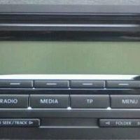 Golf 6 radio/cd unit