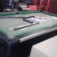brand new slate top coin operated pool table complete