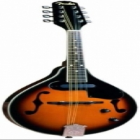 Fender FM-52E Mandolin with Pickup - Sunburst (Used, Excellent Condition)