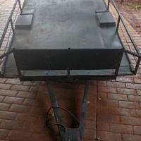Utility trailer 2.4m x 1.6m x 0.3m (sides)