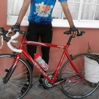 Giant road bike 56cm
