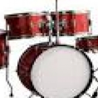 Junior drumkit - for ages 4 to 7 years