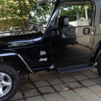 Used, Jeep Sahara TJ 2006 for sale  South Africa