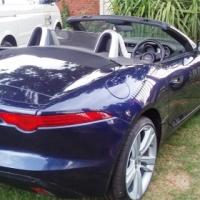 2014 Jaguar F Type 3.0L Supercharged Convertable