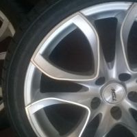 18''5x112 To fit Audi,Mercedes Benz ,Golf with tyres