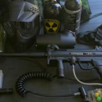 Paintball Gun Tippmann A-5 and all extras