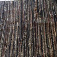Shaggy Leather Rug