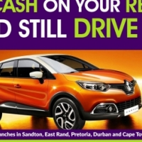 Get CASH for your Renault! Raise cash on your Renault and still drive it!