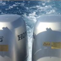 Outboard motors 2 x 90hp Honda for ski boat