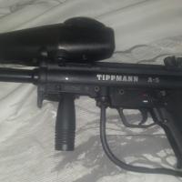 A 5 tippman paintball gun