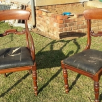 2 x old Dining Room Chairs