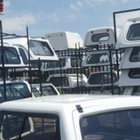 Workshop Nissan Navara D/C Canopy For Sale!
