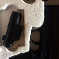 Guerilla snorre gas pistol