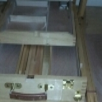 Artist easel and carry case