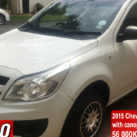 Chev utility / Corsa bakkie 1.4 with canopy 2015 model 59000km Aircon, power steering, clean View a
