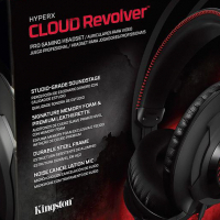 Excellent Kingston HyperX Cloud Revolver Pro Gaming Wired Headset