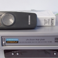 Samsung Video Machine - Silver - with remote - in excellent condition
