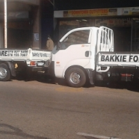 bakkies for hire