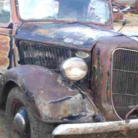 Wanted 1936 Chev Bakkie