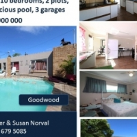 Large house on two plots for sale!