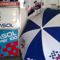 classic sasol petrol pump and extras to swop for a bakkie