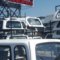 Beekman Isuzu Fleetside Extended Cab Canopy For Sale!!!!!!!!!!