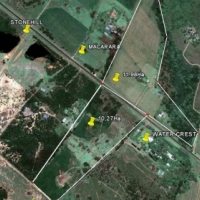 10,27 Ha Prime land for sale in Lynnwood Road- M6 route- 17km from M10/M6 crossing