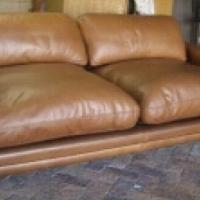 Coricraft Chobe genuine leather couch