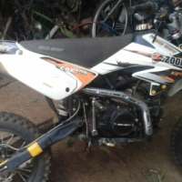 Pitbike Zooka stripping for spares
