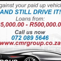 INSTANT CASH Against your paid up vehicle