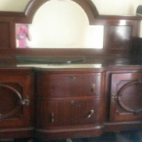 EDWARDIAN MAHOGANY SIDEBOARD FOR SALE