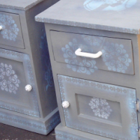 Set of Icon Bedside Chests (435x425x590)
