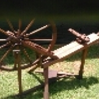 Antieke Spinwiel