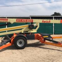Kwick T350 Trailer Mounted Boom Lift