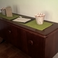 Wooden side board