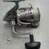 Bass reel, Daiwa Regal 2500-5ia