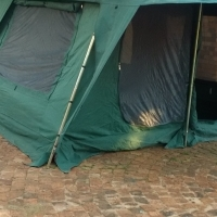 Campmaster Family Lodge Canvas tent