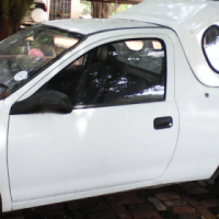 1998 Opel Corsa Light 130i bakkie with canopy and new tyres