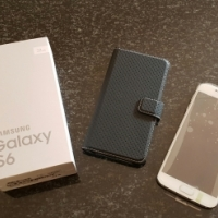Samsung S6 pearl white 32 gig for sale