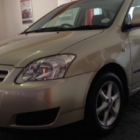 2006 TOYOTA RUNX 140 RS,with only 78 104km,
