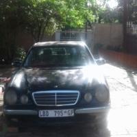 Mercedes E240 body