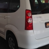 2009 TOYOTA Avanza 1.3 SX ,White,with only 59 651km's