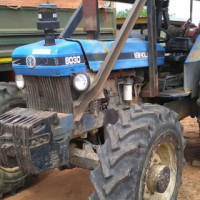 2004 New Holland 8030 4x4 with a Double Drum Igland Winch