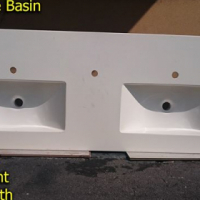 Heavey double basin for sale.