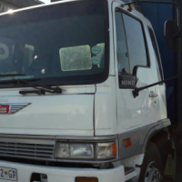 1996,Toyota Hino ADE 366 Turbo with tag axle