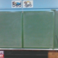 Chalk boards green