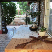 Beautiful spotless townhouse in pleasant complex with pool &attractive garden ajacent to green belt
