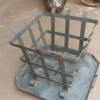 Patio Wood Burner with Ash Pan (440x440)